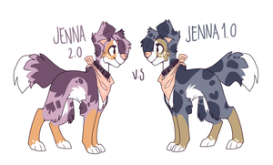 Jenna VS Jenna by Nekoshiba