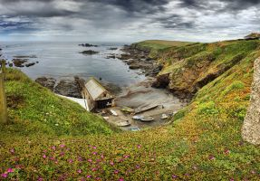 Old Lizard Lifeboat Station by ChrisDonohoe