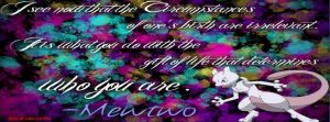 Mewtwo quote (facebook coverphoto format) by Bleachrox95