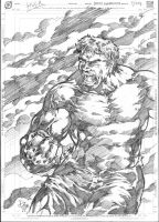 Big, Bad and Green - THE HULK by donnyg4