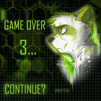 Green Raccoon- Continue by Kaotheroogoncreator