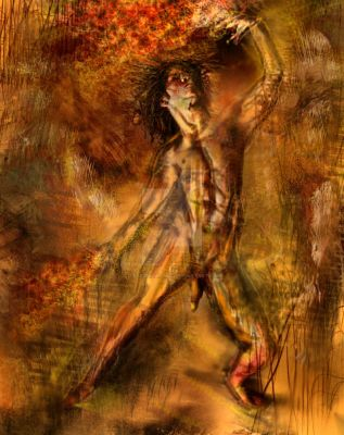 dance with fire by L-A-Addams-Art