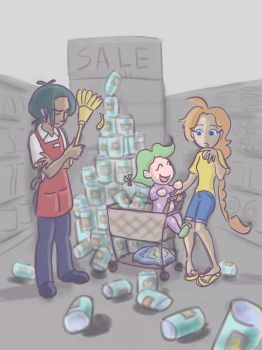 cleanup in aisle 7 by CaliforniaClipper