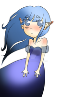 Elf Girl by TacWithAPencil