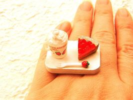 Strawberry Pie Ring by souzoucreations