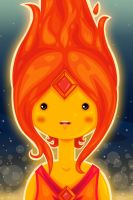 Flame Princess by SteffHardy