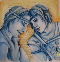 Heroes: Moroni and Lehi by Swiftstride