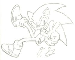 Sonic TH - Sketch by OrdinaryGartist