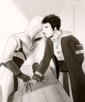 Altair and Malik by Nakamon