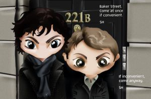 sherlock and john by c17508