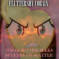 Fluttershy Cobain6 by MindlessGonzo