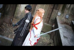SAO - [GIF] Watch Your Back by Eli-Cosplay