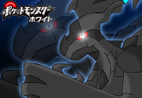 Zekrom background by Doomdrao