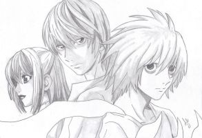 Death Note by AliZS1