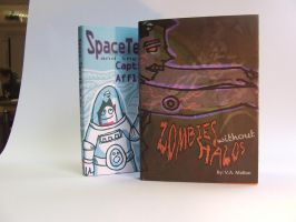 Photos of Mock Book Covers by DeathlySilent