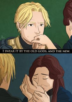 GoT - I swear it by the old gods and the new by fortheloveofpizza