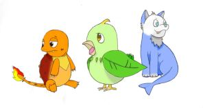 Shiko Starters by Water-Fan2090