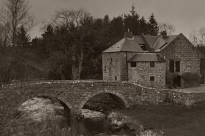 The Old Corn Mill by Old-Rascal