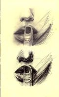 Mouth Study by ktparkes