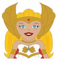 She-Ra Symmetry by haydenyale