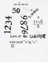 LaWs oF THe UnIversE by kalistina