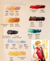 Markers References by CloverDoe