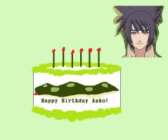 Happy Birthday Anko by Hyper-BlossomZ