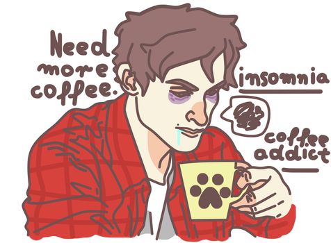 Coffee addict by Social-Cannibal