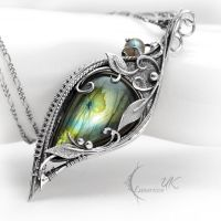 TZINDRIS - Silver and Labradorite by LUNARIEEN