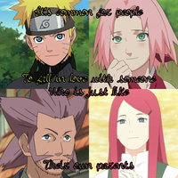 NaruSaku - Parents by juanito316ss