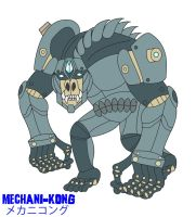 Godzilla Endgame - MECHANI-KONG by Daizua123