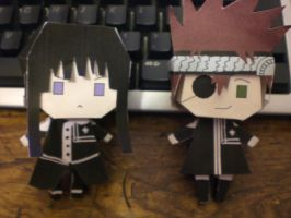 Kanda and Lavi Paper Dolls by sparrowhawk51
