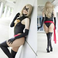 Leaning : With Bonus Posterior : Ms Marvel by Lossien