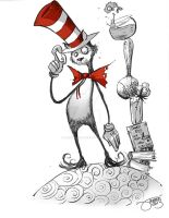 026 - Cat in the Hat by JeremyTreece