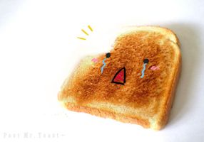 : Poor Mr. Toast : by ToxicOxygen