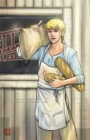 Fanart - Boy with the Bread by fictograph