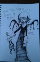 Black Blood Crona's Madness by DeadGotashi
