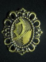 Steampunk Broach 2 by KatarinaNavane