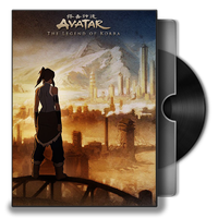 Avatar The legend of Korra Book 1 Air DVD Icon by Omegas82128