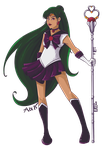 Sailor Pluto by abisianjunior