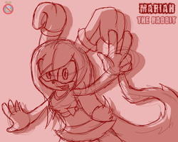 CM: Mariah the rabbit Sonic Channel style by shadowhatesomochao