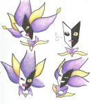 Dimentio Face Practice by Metacookie