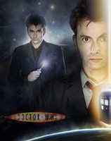 David Tennant - Doctor Who Poster by Vampiric-Time-Lord