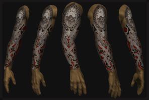 full sleeve tattoo 16 by shepush
