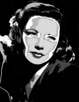 Gene Tierney - Vectored 1 by musicgal3