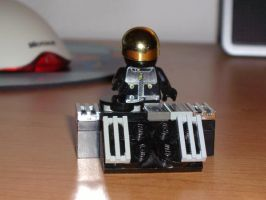 Lego Daft Punk - Guy Man by Kongpang