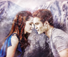 Bella and Edward by KseniaCrispi