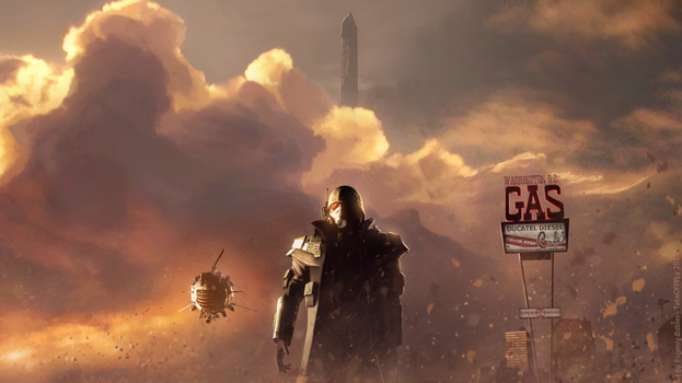 Fallout World | New Washington D.C. by TakeOFFFLy