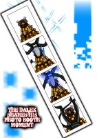 Dalek Photo Booth moment by Adder24