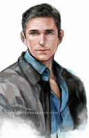 Mr.Reese by Haining-art